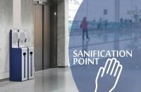 Dezinfekční stanice Sanification point