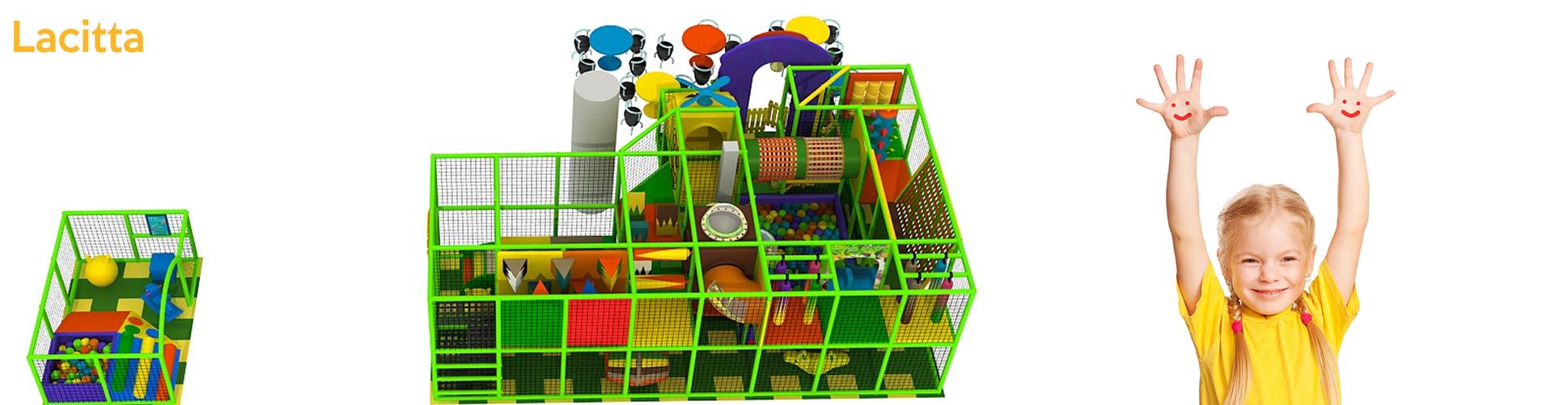 vnitřní dětské hřiště