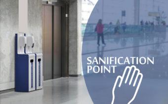Bezkontaktní dezinfekční stanice do veřejných i soukromých prostor